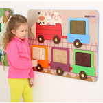 Childrens Wallboard Tactile Train